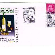 Sobre conmemorativo - O Rosal