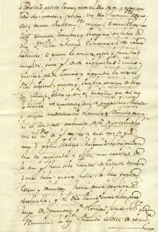 Ventas - 1780, octubre, 4. Cintruénigo (Navarra)