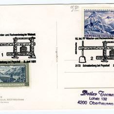 Tarjeta postal - Schrattenberg Bei Poysdorf