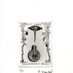 Ex Libris de F. Marichal