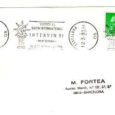 Tarjeta postal - Barcelona