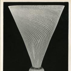 Copa de vidrio