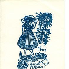 Ex Libris de Manuel Araujo Leal
