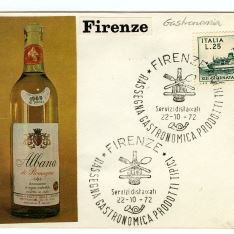 Sobre conmemorativo - Florencia