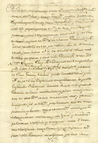 Ventas - 1780, junio, 8. Cintruénigo (Navarra)