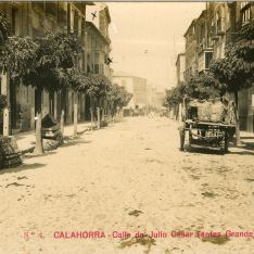 Calle Julio César de Calahorra