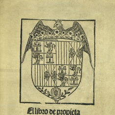 Libro de propietatibus rerum en romance Hystoria natural do setrata las propiedades de todas las cosas, [etc.]