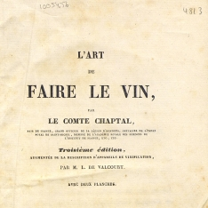 L'art de faire le vin