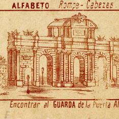 Tarjeta comercial. La unión vinícola. Madrid