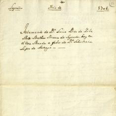 Testamentos - 1706, julio, 3. Logroño (La Rioja)