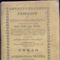 Processo ed istruzioni pratiche intorno alla formazione dei vini datino, secondo i nuovi metodi, ed alla conservazione e miglioramento loro, anche