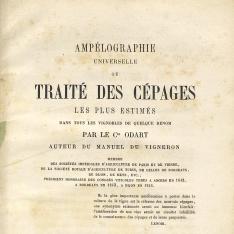 Ampélographie universelle ou traité des céàges les plus estimés danstous les vignobles de quelque renom