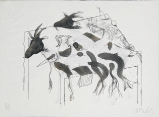 Acróstico de cabras I y II