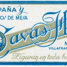 Etiqueta. Cavas Hill. Moja. Villafranca del Panadés