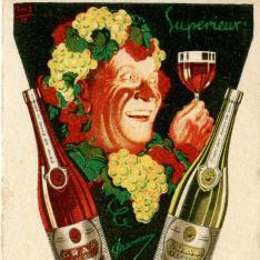 Almanaque publicitario. Vins Supérieurs Grap. [1931]