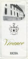 Folleto publicitario de vino de Rioja, Vivanco