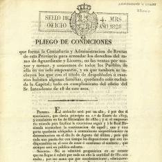 Arrendamientos - 1828, diciembre, 20. Madrid