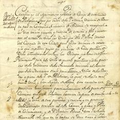 Arrendamientos - 1792, noviembre, 15. Pamplona (Navarra)