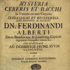 Mysteria cereris et Bacchi in vasculo ex uno Onyche...